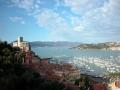 25-Aussicht vom Hotel Doria auf Lerici u.Bucht von La Spezia
